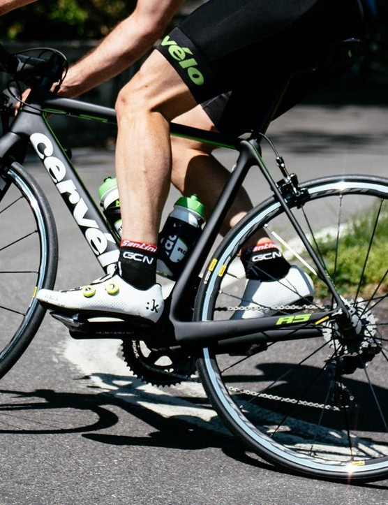 The Dura Ace mechanical build will be the first model available on launch