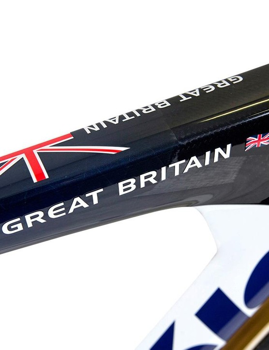 The Cervélo T5GB was largely designed in England for Team GB