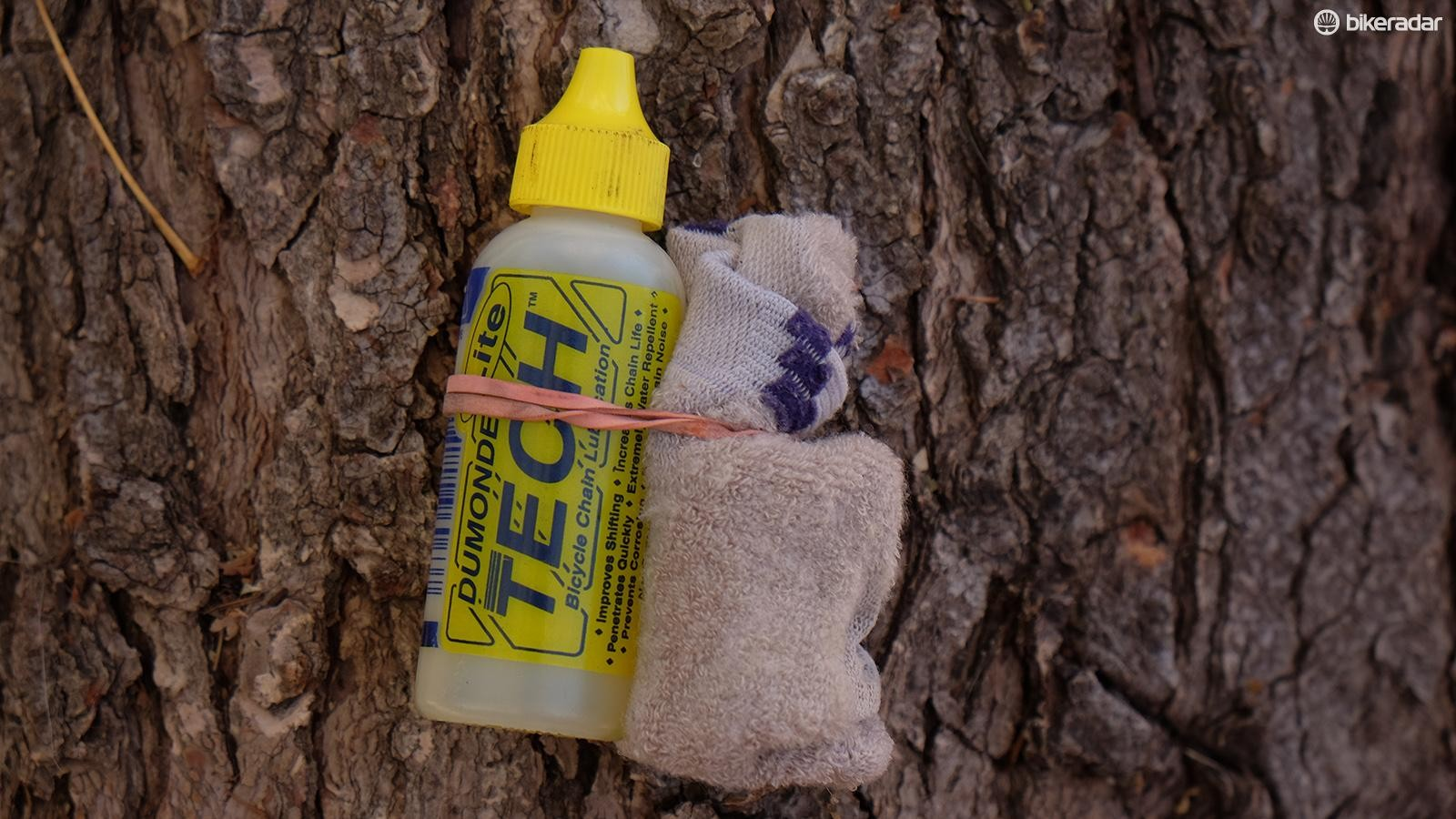 If you're likely to encounter multiple stream crossings or a chance of showers, a small bottle of chain lube with a peice of cloth to clean the chain is a good addition to your kit