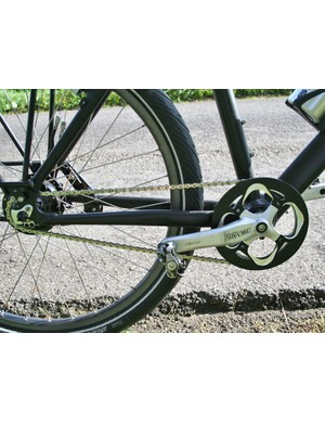 The Rohloff transmission requires almost no day to day maintenance to worry about with very little wear on the chain