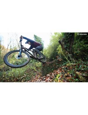 50to01 rider Craig Evans razzes his Chameleon hard