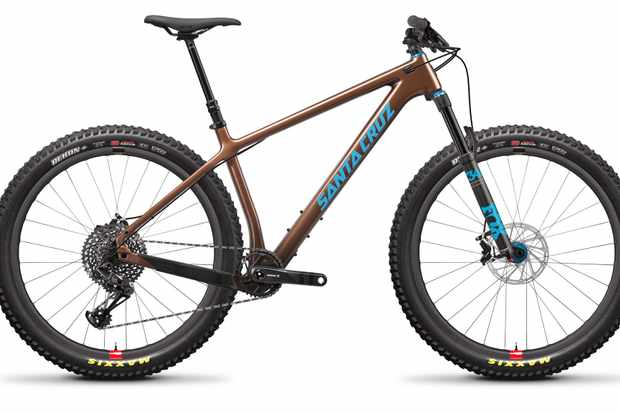 The top of the range bike comes with Santa Cruz's Reserve Wheels
