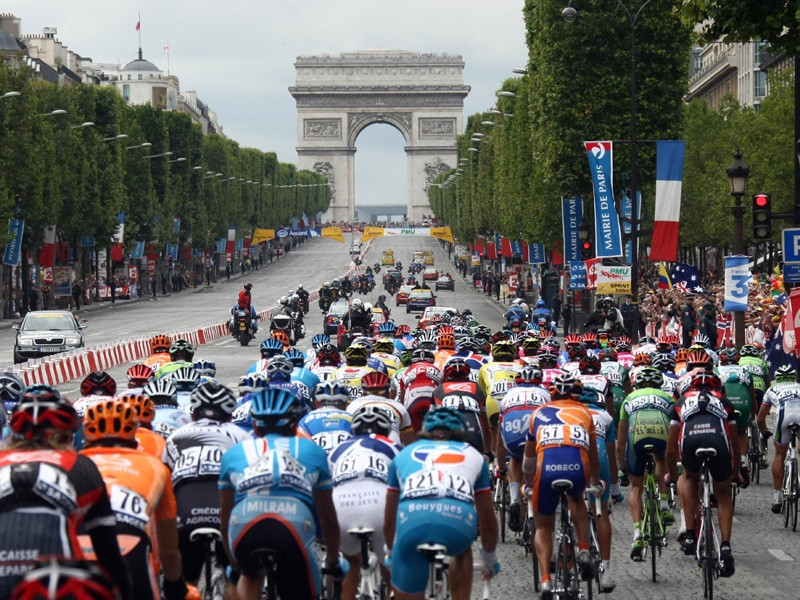 On the streets of Paris the biggest cheers were for the dometiques