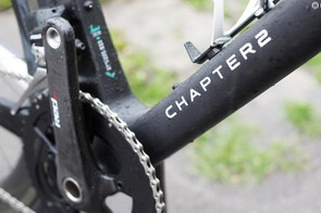 The bike gets full SRAM Red with the eTap system