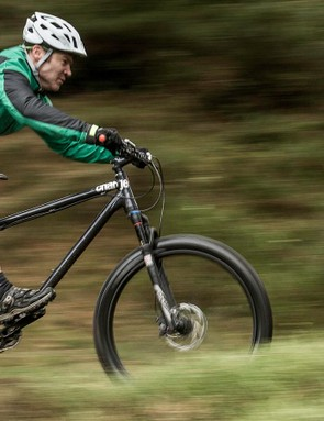 Show it some easygoing trail riding and the Cooker is in its element