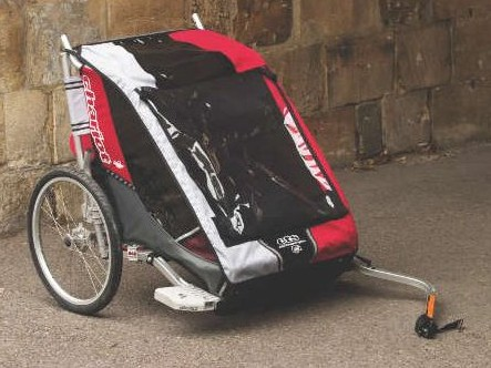 The Cougar II is both secure and comfortable for your child.