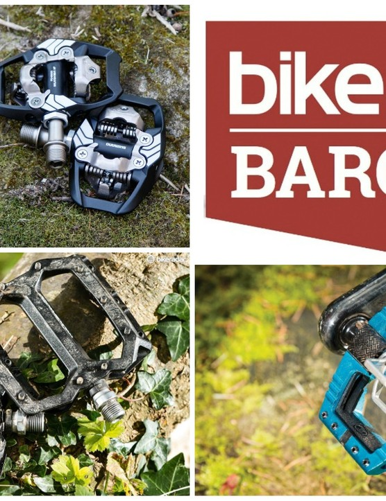 For this week's edition of BikeRadar Bargains, we've rounded up four of the most swag-tastic, bargain-licious, saving-savvy MTB pedal bargains from around the web