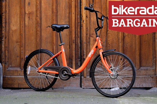 You could definitely find better ways to spend £50 than buying this bike