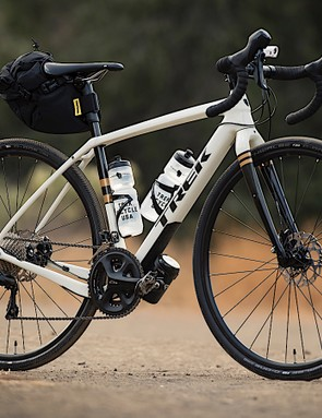 Accommodations for extra bottles, wide tires and gear? Check, check and check for the new Trek Checkpoint
