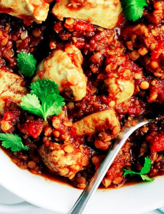Tasty Indian food without the huge calorie hit you get with a takeaway
