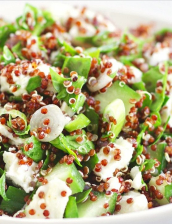 Fresh and zesty with protein-packed feta and quinoa