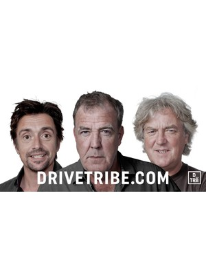May's latest venture, DRIVETRIBE, is a new online car community from himself, Richard Hammond and Jeremy Clarkson