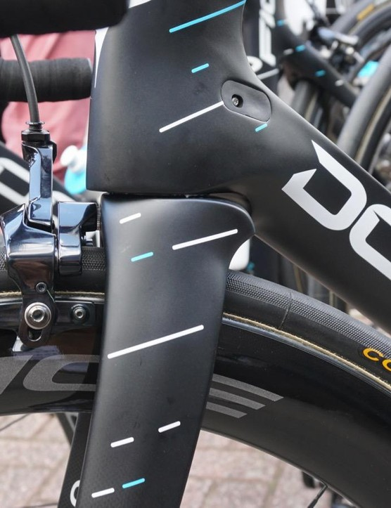 Sky has the full range of new Shimano Dura-Ace wheels at its disposal