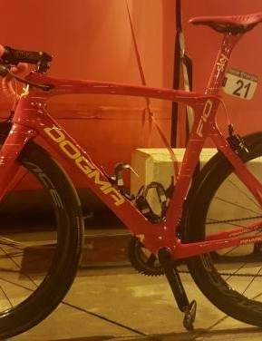 Chris Froome's Vuelta a Espana winning Pinarello Dogma F10