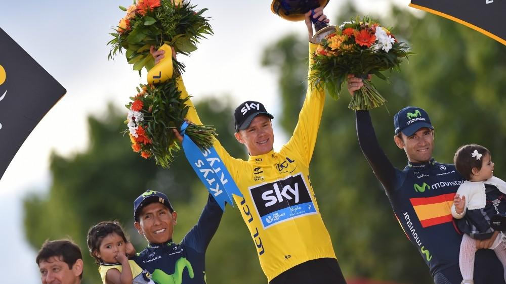Chris Froome wins Tour de France 2015