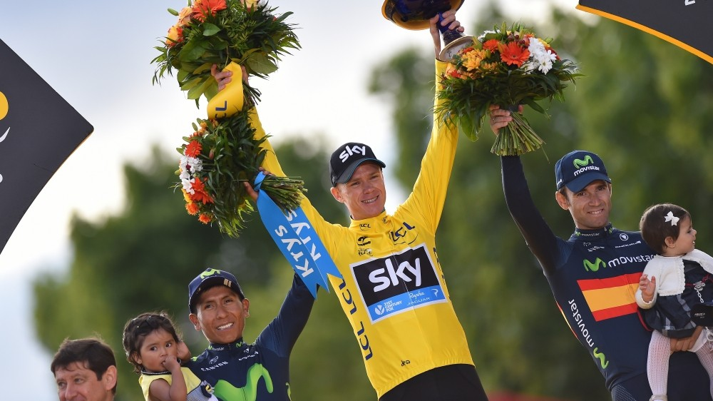 Chris Froome wins Tour de France 2015
