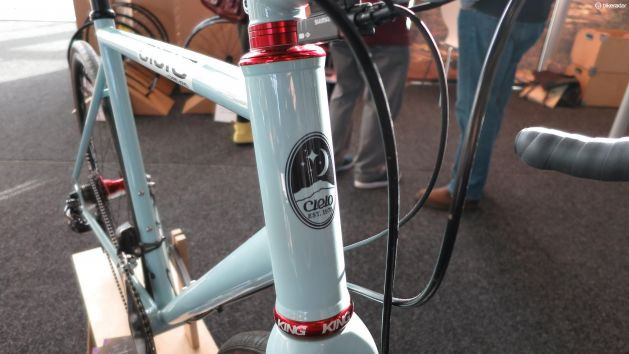 Cielo frames were naturally outfitted with Chris King components