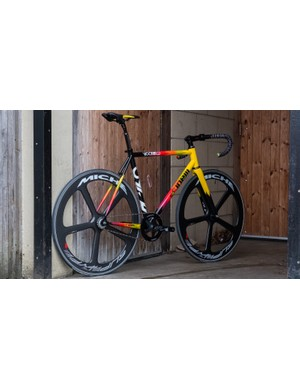 On the other hand, this loud colour scheme from Cinelli caught our eye for different reasons!