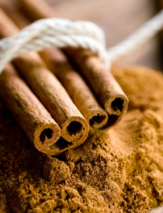 Cinnamon helps your body use carbs more effectively