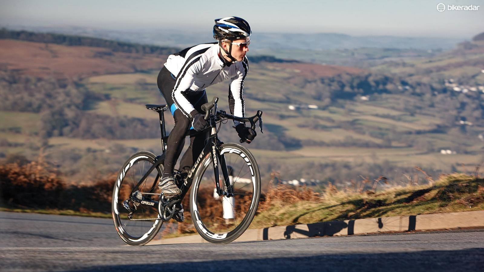 Combine long fat-burning rides with sessions focussed on hard efforts