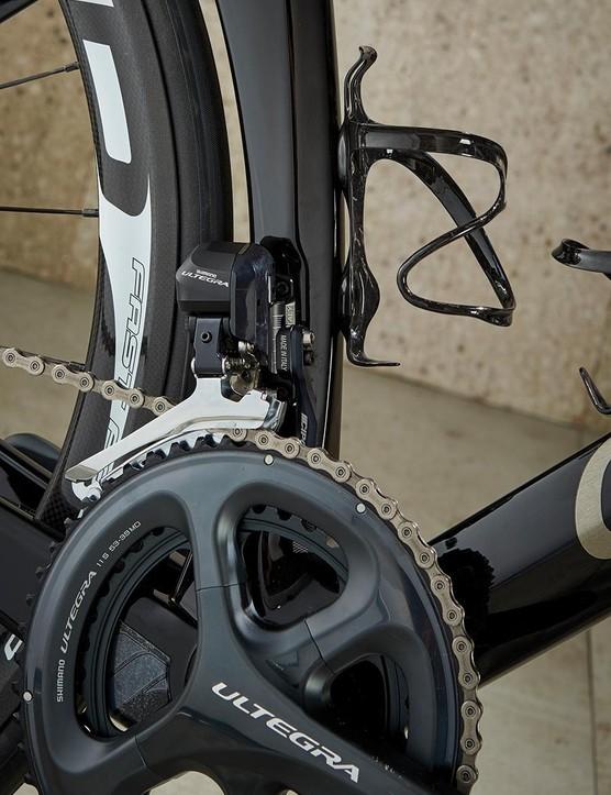 FFWD wheels provide good crosswind control