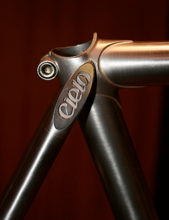 Nice seatstay caps, Chris.