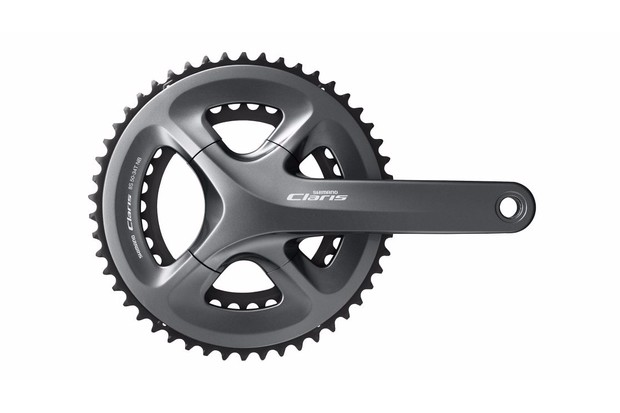 The latest Claris R2000 groupset borrows design cues from its more expensive siblings