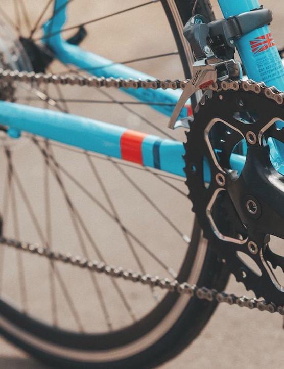 Plenty of gears for climbing