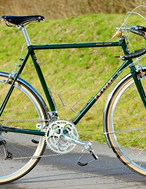Classic steel-framed touring bikes look great and do the job they're designed for very well