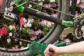 Cleaning your chain regularly will stop creaks and make your gears last longer