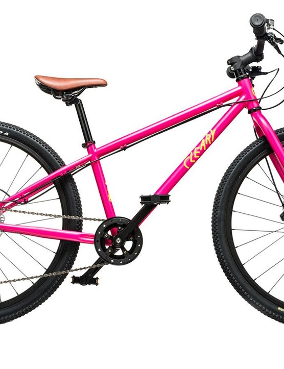 Cleary's Meerkat takes your little ripper one step closer to being faster than you with 24in wheels, 1x9 drivetrain, and even hydraulic disc brakes