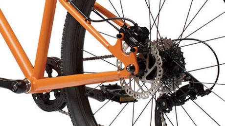 Cleary's 24in Meerkat comes with Tektro hydraulic disc brakes