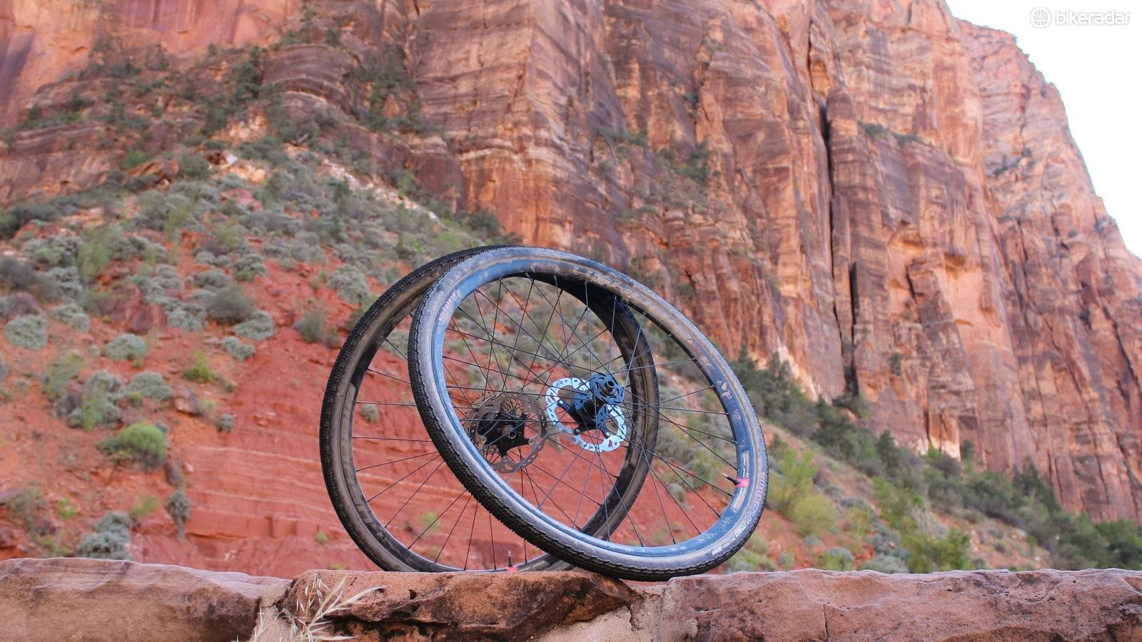 Clément's new Ushuaia 700c tubeless wheels are designed for wide tires and a wide range of road riding