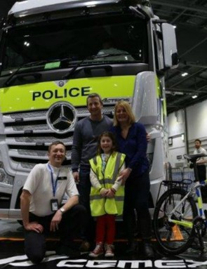 The CLOCS team will be at The London Bike Show with several HGV cabs to demonstrate the blind spots around the vehicles, and the new cab designs that aim to reduce them
