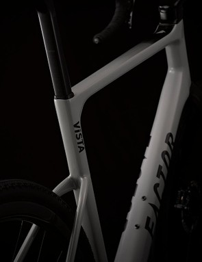 Lowered seatstays and a frame-specific seatpost should offer plenty of comfort
