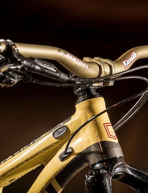 Renthal's bar, stem and grips always prove popular when seen stock on bikes