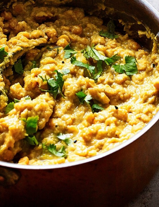 Make up a batch of this hearty curry and freeze it, ready to feast on after those long rides when you can't face cooking