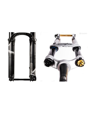 American suspension manufacturers MRP and Cane Creek are bringing coil forks to market this fall