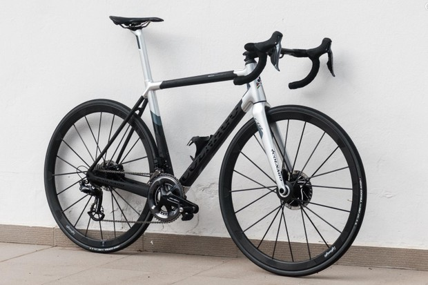Colnago has also launched a disc version of the C64