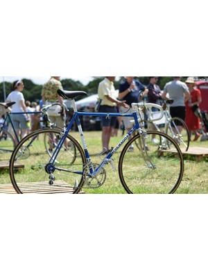 You can't have a classic bike gallery without a Colnago. So here's a Colnago. A rather lovely Super from 1983-ish...