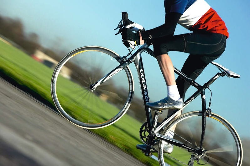 Taking the Colnago Arte for a spin.