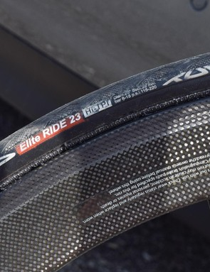 Only in Europe... 23mm tyres seem an odd choice nowadays
