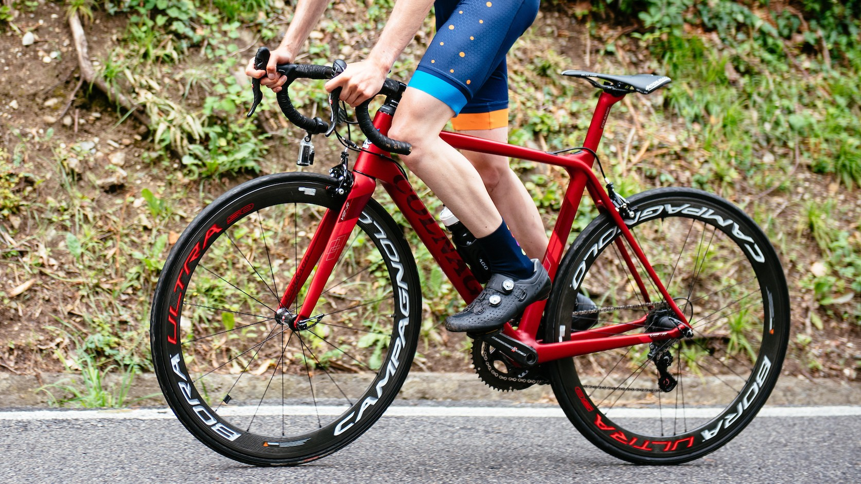 Riding a Colnago makes your muscles bulge more. Fact