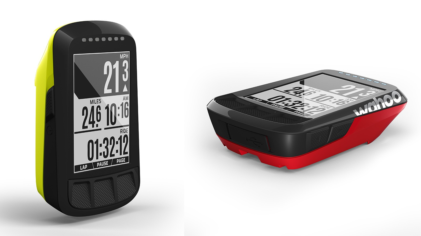 For a limited time, the Wahoo Elemnt Bolt is available in yellow and red