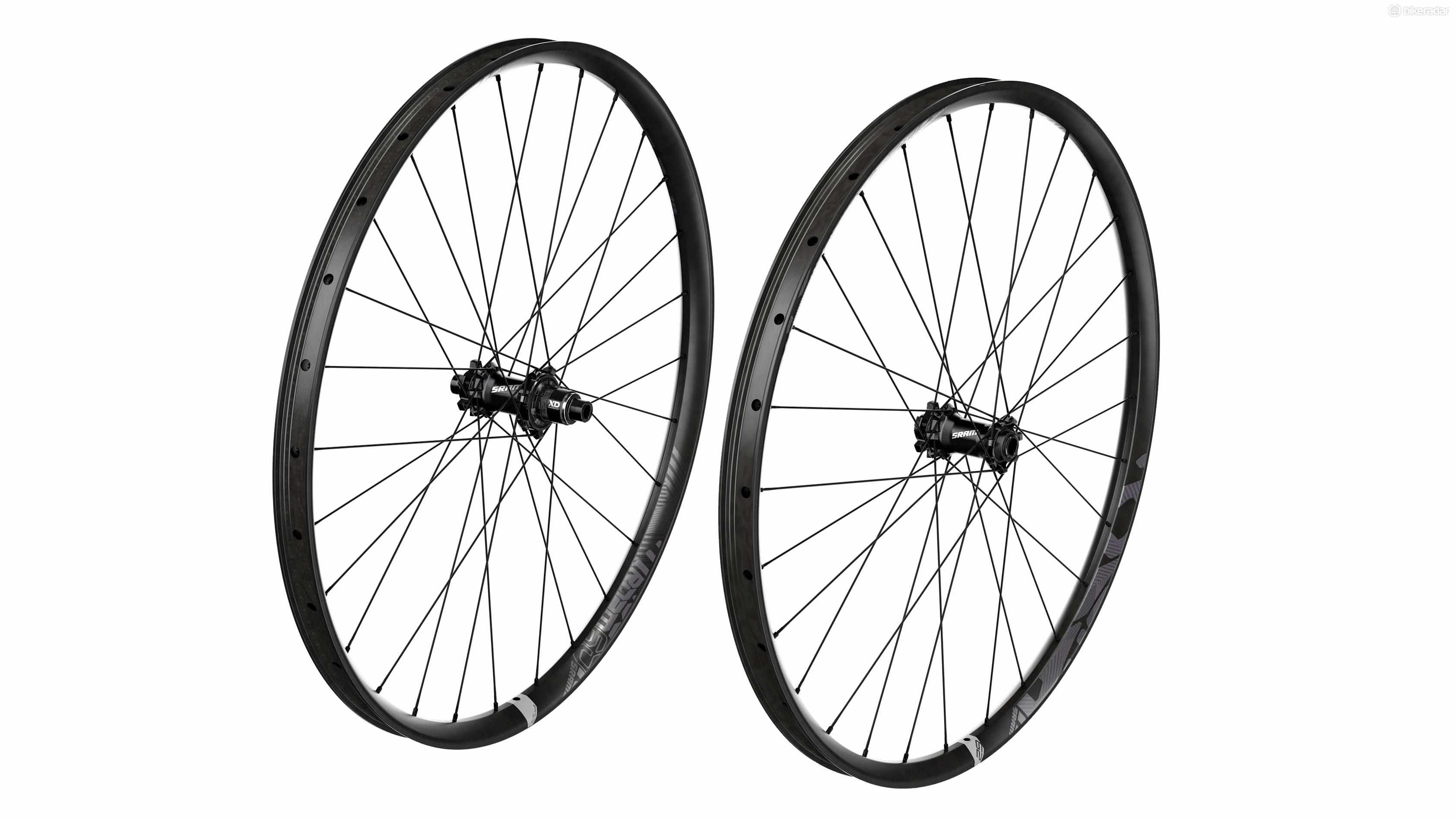 SRAM has taken the wide-rimmed carbon Rise 60 and given them the 29er treatment