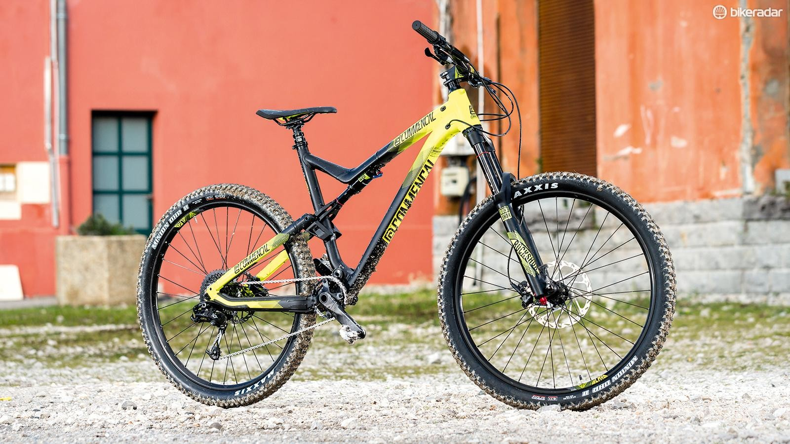 Commencal's Meta AM Origin is anything but stealthy