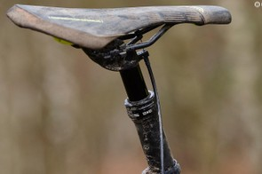It's great to get a dropper post, but ours had reliability issues and we'd prefer a longer drop