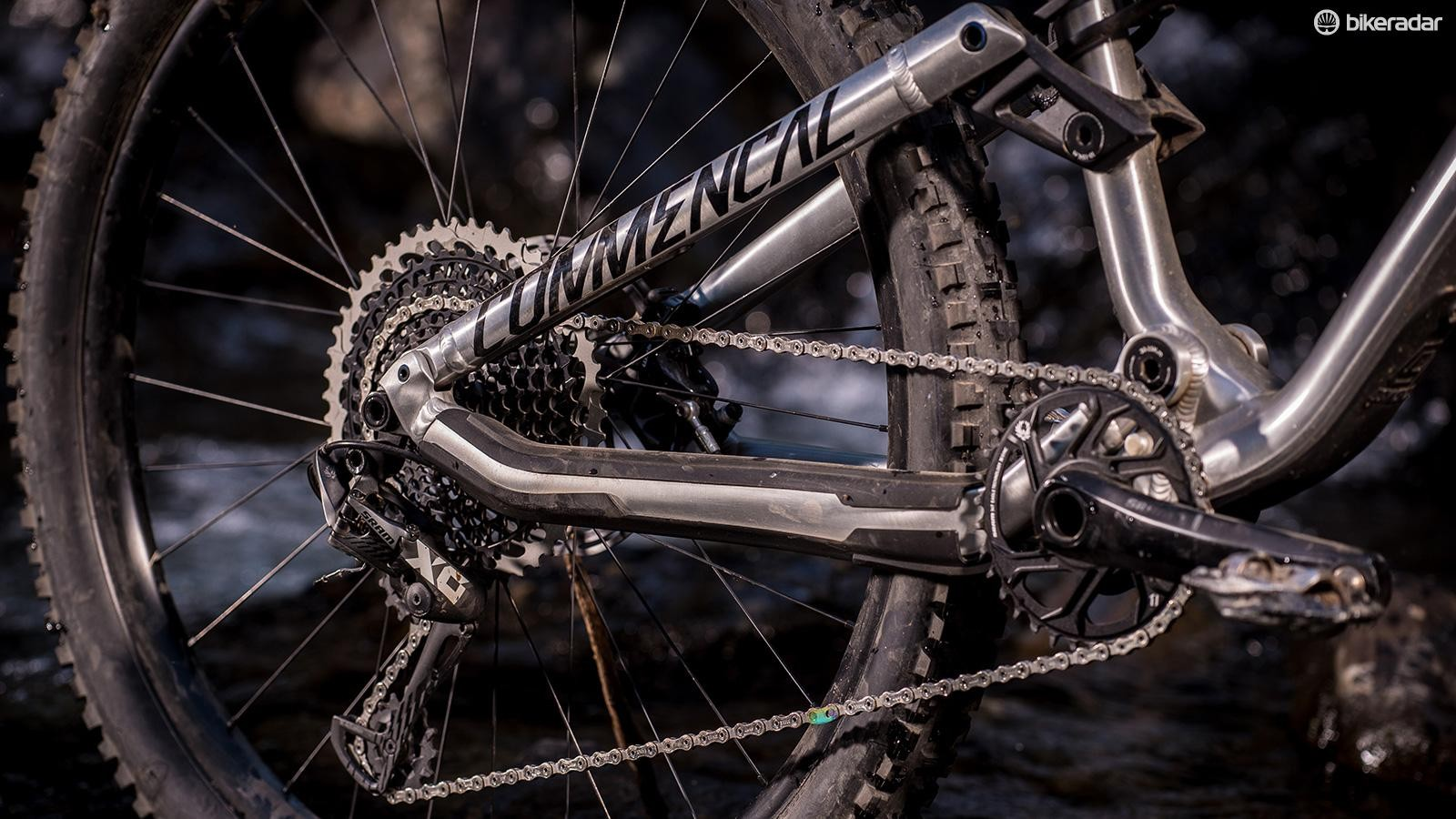 SRAM XO1 Eagle does the shifting business