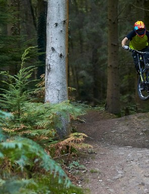 The bulk mutes the fun on flatter trails, but it's still a pretty playful bike