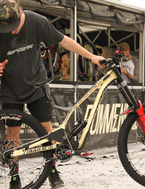 Myriam Nicole's mechanic talks through the finer details of her Supreme DH with MBUK's Ed Thomsett